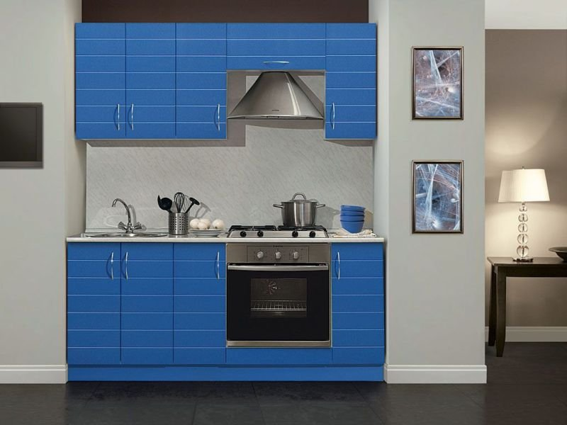 Мини кухня в стиле модерн