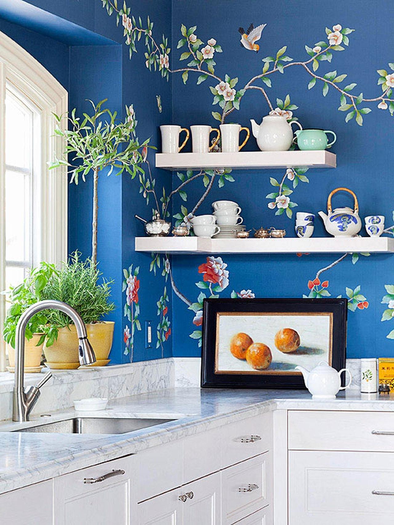 Кухня в стиле ретро фото стационарное учреждение