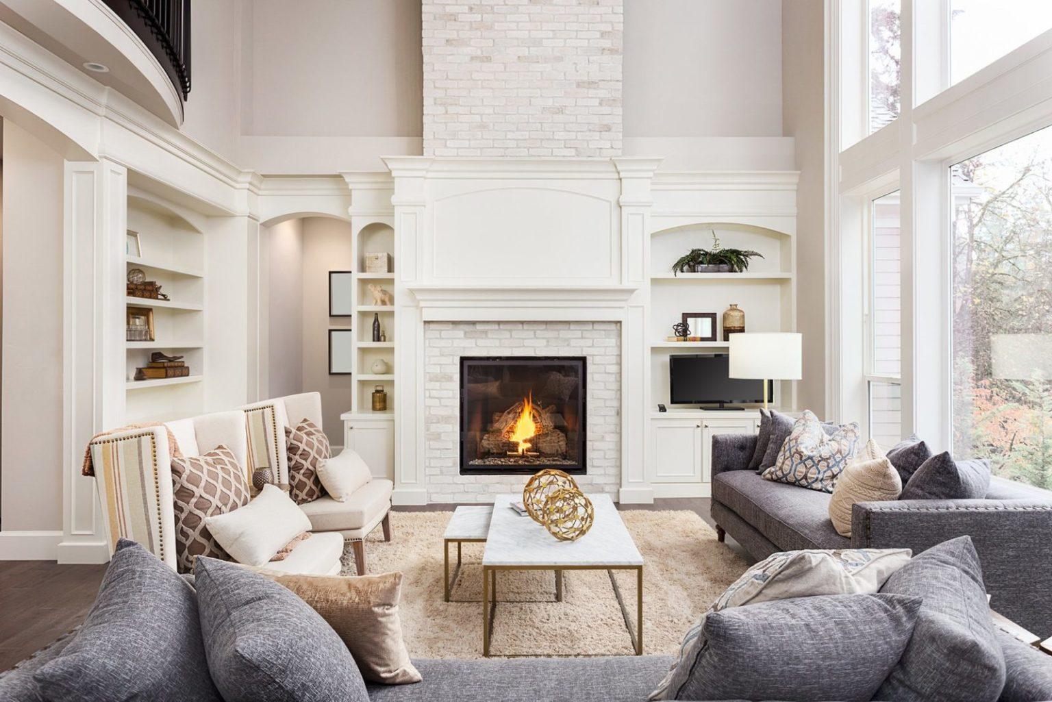 отличается простотой гостиная в стиле прованс с камином фото узнаете, как передаётся
