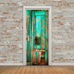 декор двери своими руками оформление