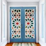 декор двери своими руками идеи фото