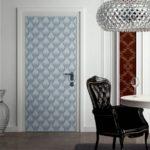 декор двери своими руками дизайн