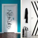 декор двери своими руками дома