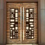 декор двери своими руками дизайн идеи