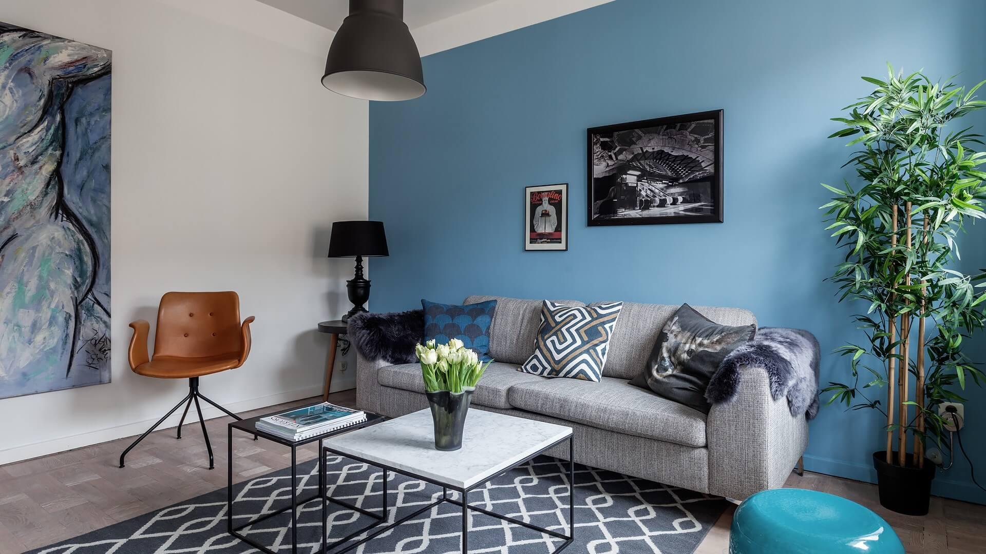 дизайн интерьере в шведском стиле