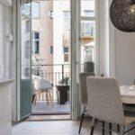 кухня совмещенная с балконом фото идеи