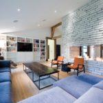 домашний камин в гостиной интерьер идеи