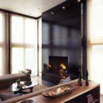 домашний камин в гостиной варианты