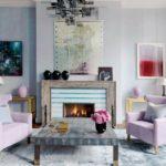 домашний камин в гостиной дизайн идеи