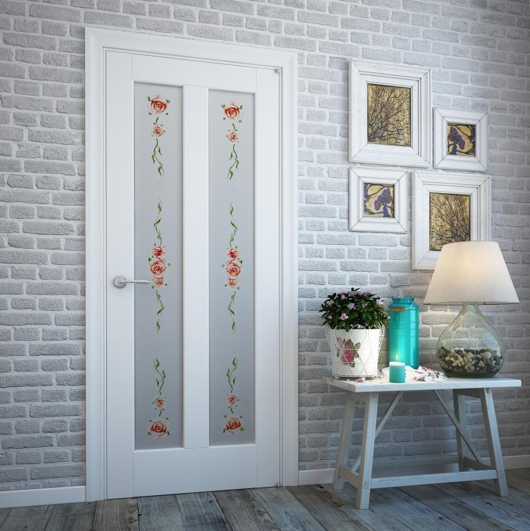 декор двери прованс