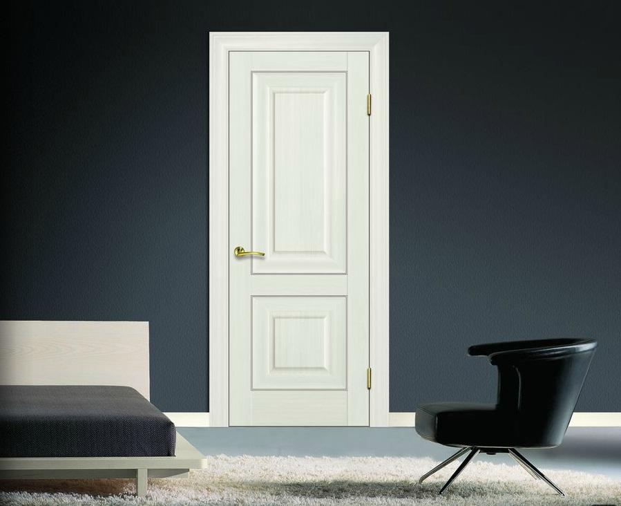 дверь с отделкой из полипропилена