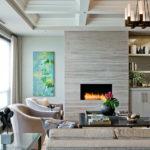 электрический камин для дома дизайн идеи