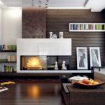 электрический камин для дома дизайн