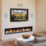 электрический камин для дома дизайн фото