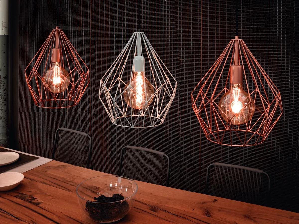геометрические светильники лофт