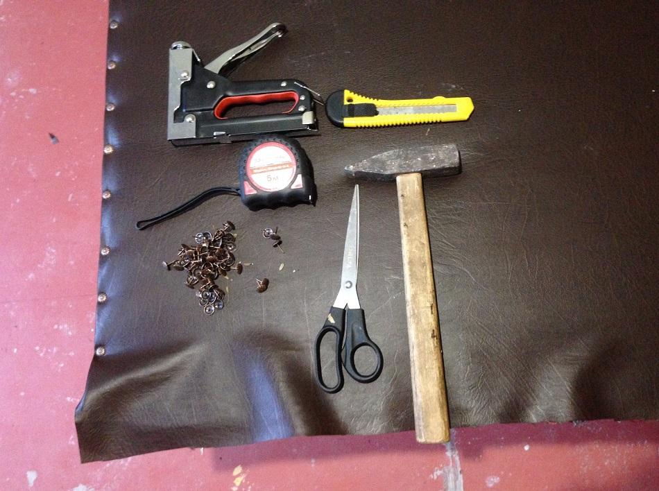 инструменты для обивки