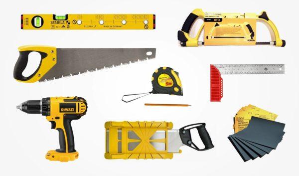 Инструменты для создания лестницы