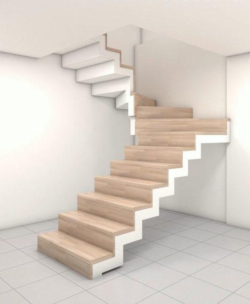 Благодаря им предоставляется возможность создать оригинальную, компактную лестницу.