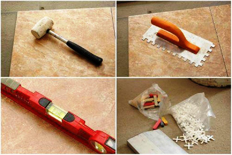 инструменты для работы над камнем