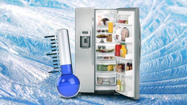 От того, как выставлена температура зависит и количество потребляемой мощности, и нагрузка на компрессор.
