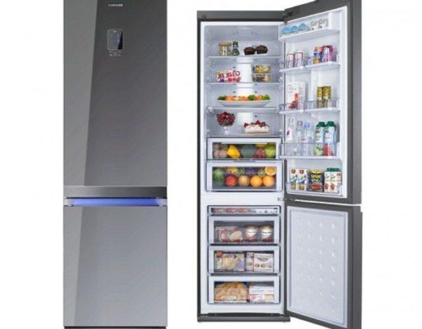Стандартные агрегаты делятся на две камеры – холодильную и морозильную.
