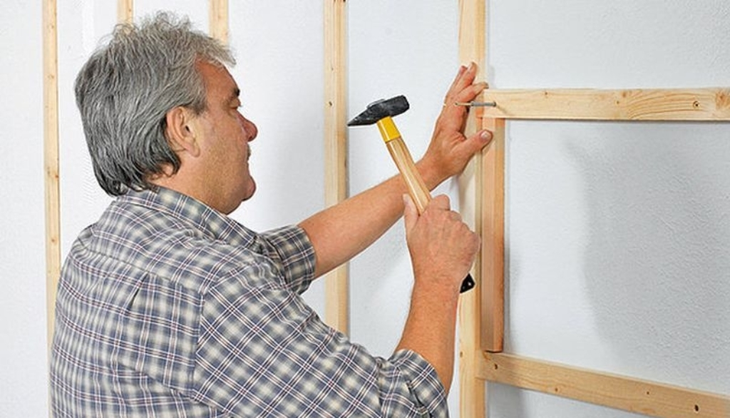 каркас для облицовки стен