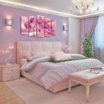картины для спальни оформление