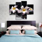 картины для спальни варианты фото