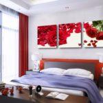 картины для спальни виды фото