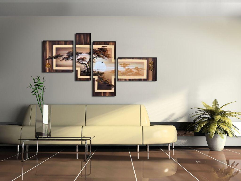 модульная картина в зал