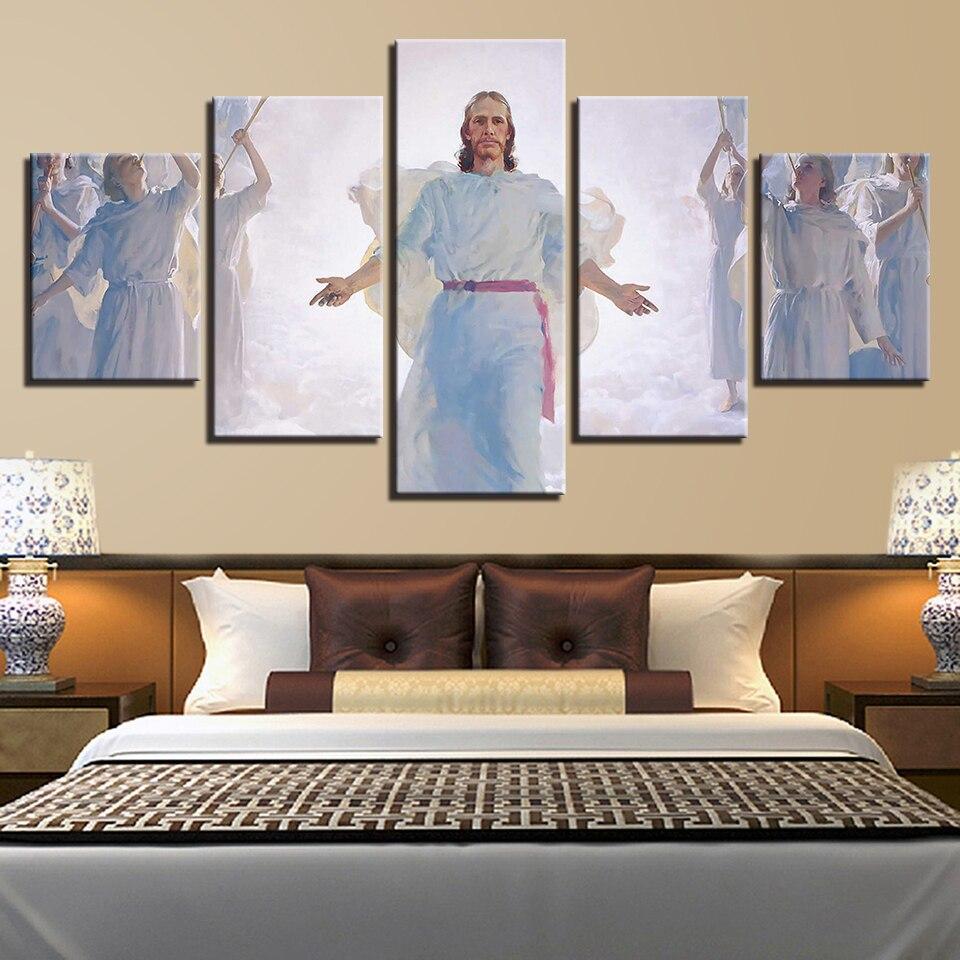 библейские картины в спальню