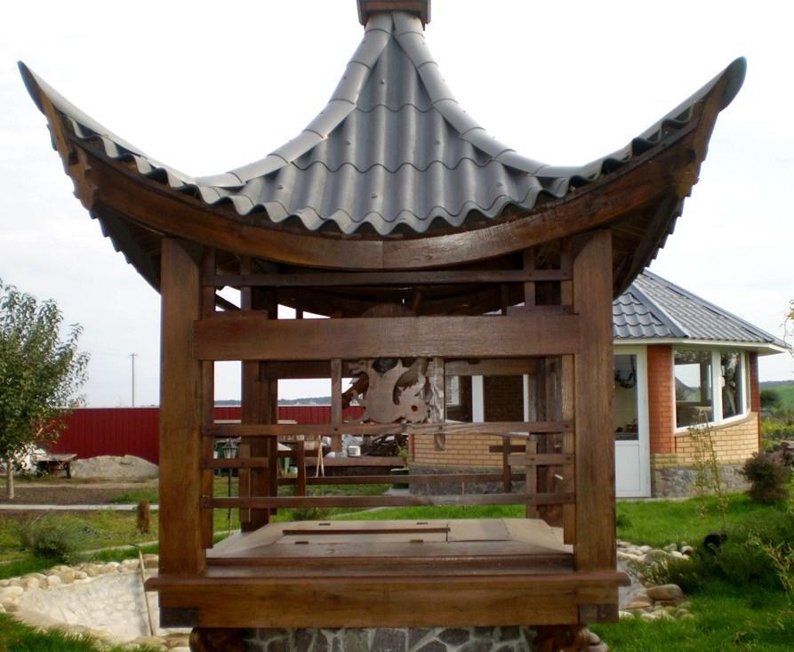 колодец в восточном стиле