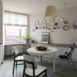 короткие шторы на кухне интерьер идеи