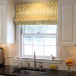 короткие шторы на кухне идеи оформление