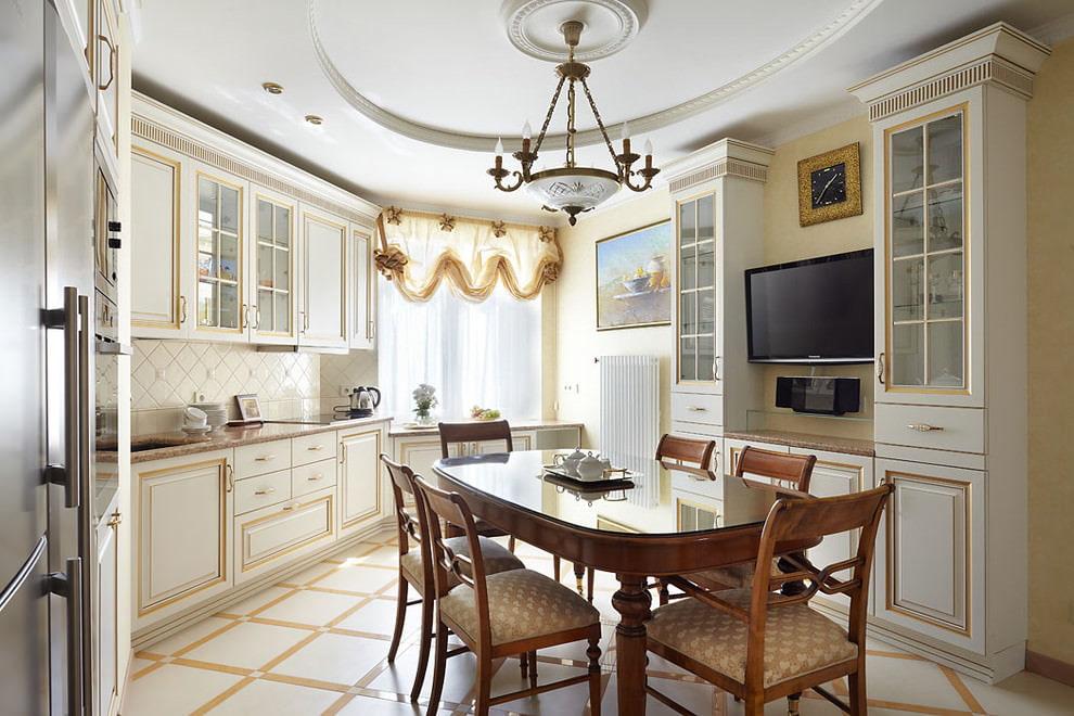 короткие шторы на кухню варианты