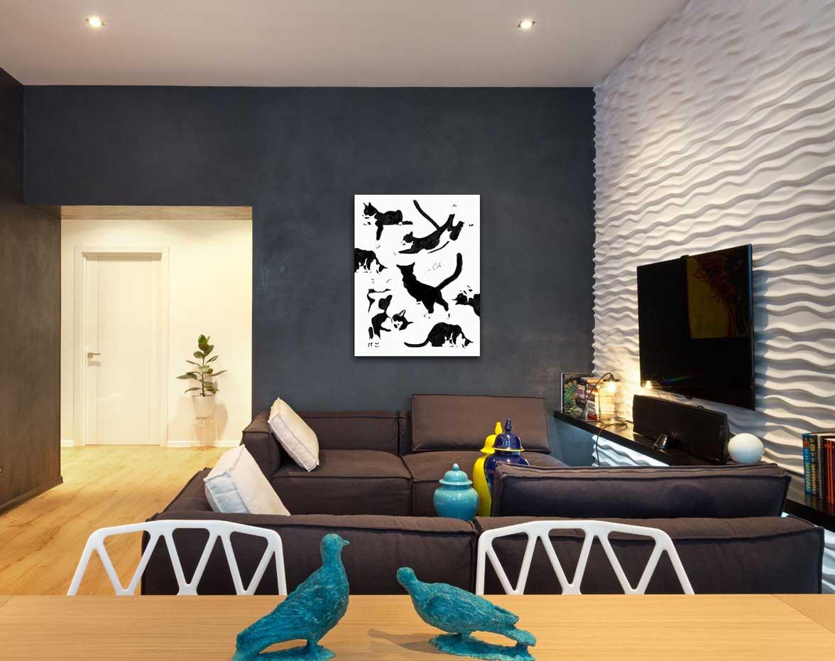 крашеные стены в квартире
