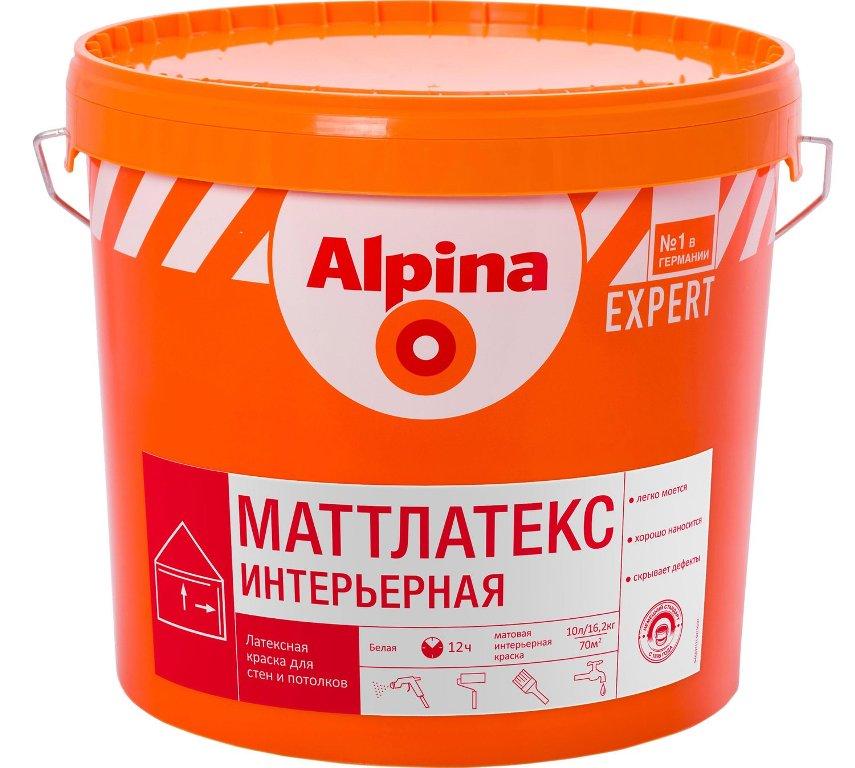 краска для потолка Alpina