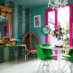 краска для стен в квартире декор фото