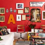 краска для стен в квартире идеи дизайн