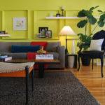 краска для стен в квартире идеи интерьер