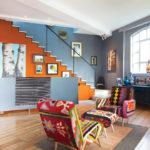 краска для стен в квартире фото интерьера