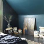 краска для стен в квартире фото оформление