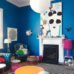 краска для стен в квартире оформление идеи