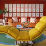 краска для стен в квартире фото декор