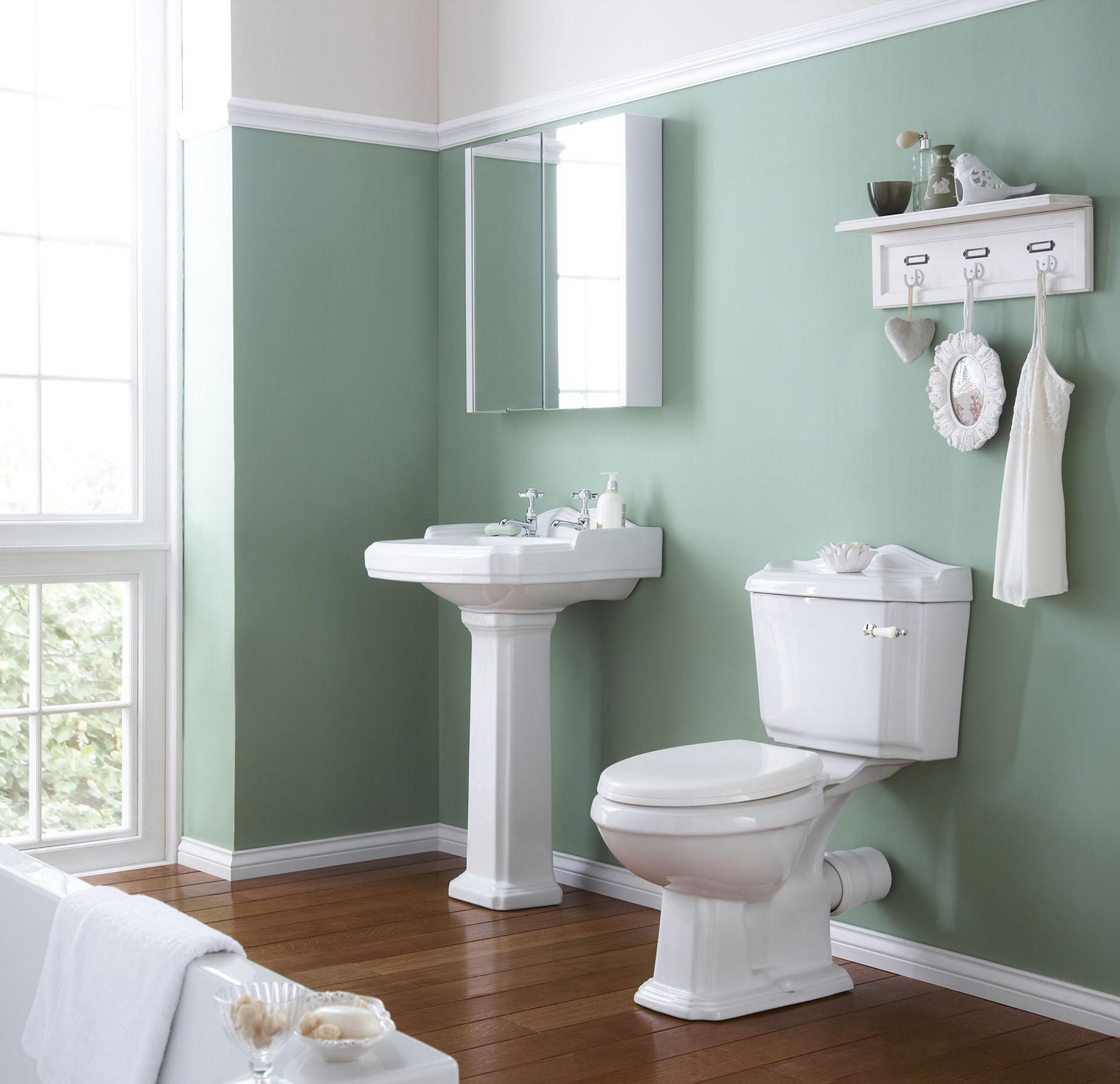 краска для стен в ванной фото