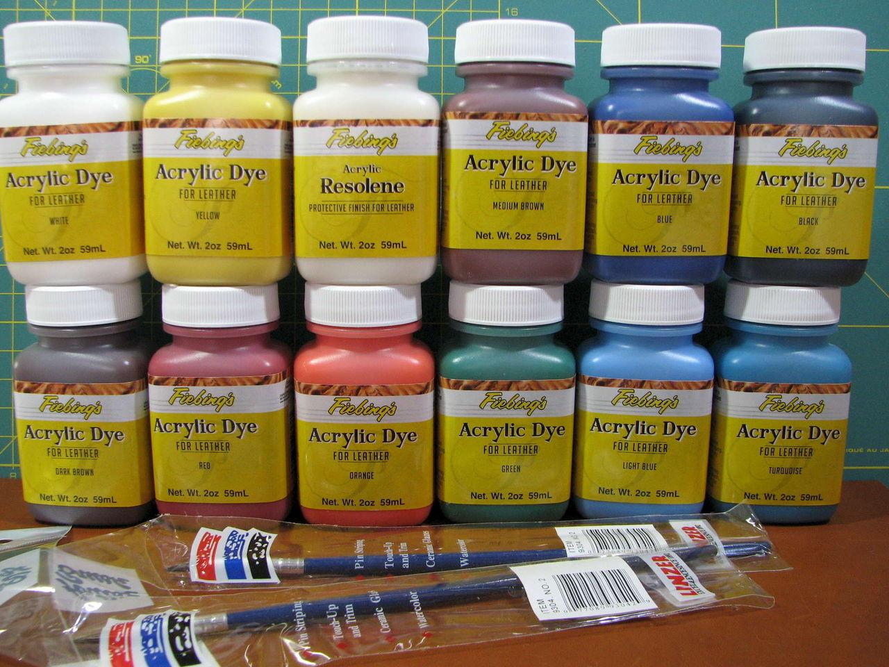 краски для кожи