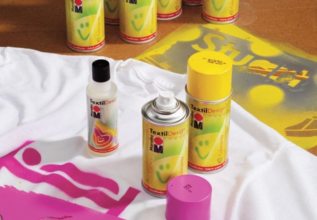 аэрозольные краски для ткани