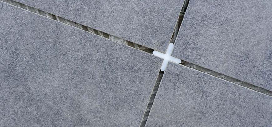 крестики между плитками