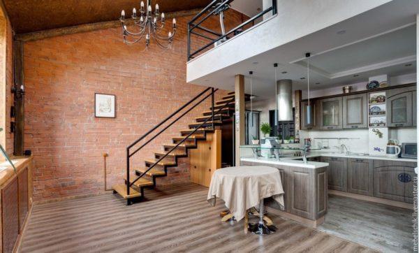 Лофт – хороший вариант для тех, кто не хочется заморачиваться с отделкой помещения.