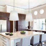 кухня венге в светлых тонах